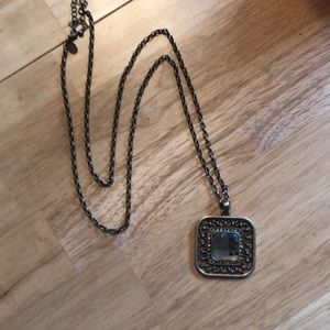 "Jewelry - 17"" Gold Lia Sophia Necklace"